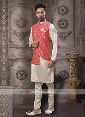 Wedding Wear Mens Nehru Jacket