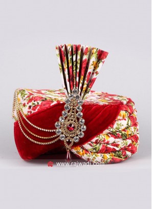 Wedding Wear Multi Color Safa
