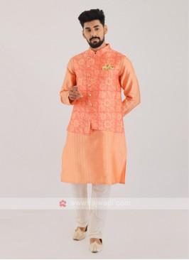 Wedding Wear Nehru Jacket Suit