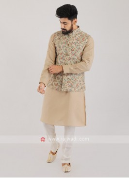 Wedding Wear Nehru Jacket Suit