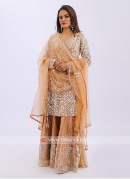 Wedding Wear Palazzo Suit