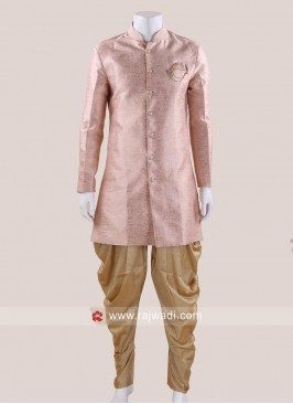 Wedding Wear Peach Indo Western