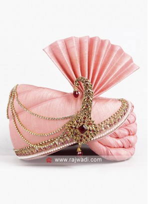 Wedding Wear Pink Color Safa