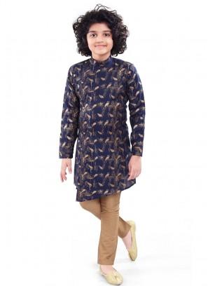 Wedding Wear Printed Kurta Pajama