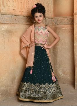 Wedding Wear Sequins Work Choli Suit