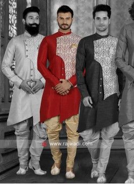 Wedding Wear Indo Western in Red