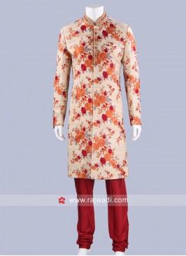 Wedding Wear Sherwani For Mens