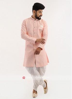 Wedding Wear Silk Indo western
