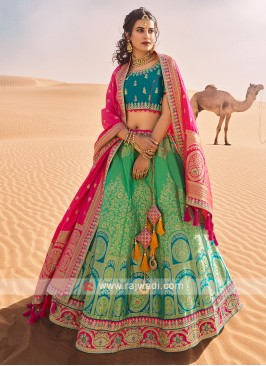 Wedding Wear Silk Lehenga Choli