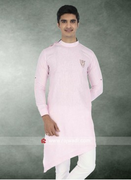 Wedding Wear Light Pink Kurta