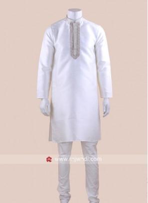 White Color Kurta Pajama