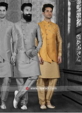 Wedding Wear Nehru Jacket
