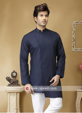 Blue Long Sleeve Kurta