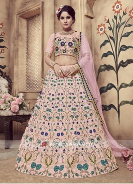 Winsome Light Pink Lehenga Choli