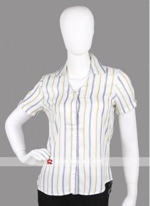Women formal short shirt