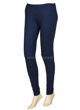 Women Navy Blue Leggings