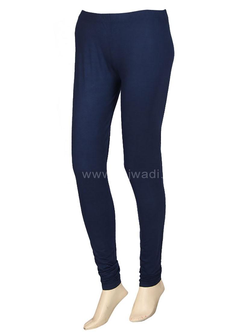 Women Navy Blue Leggings