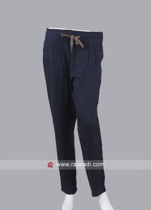 Women navy blue pyjama