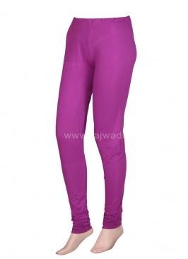 Women Purple Leggings