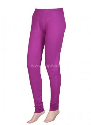 Women Purple Leggings