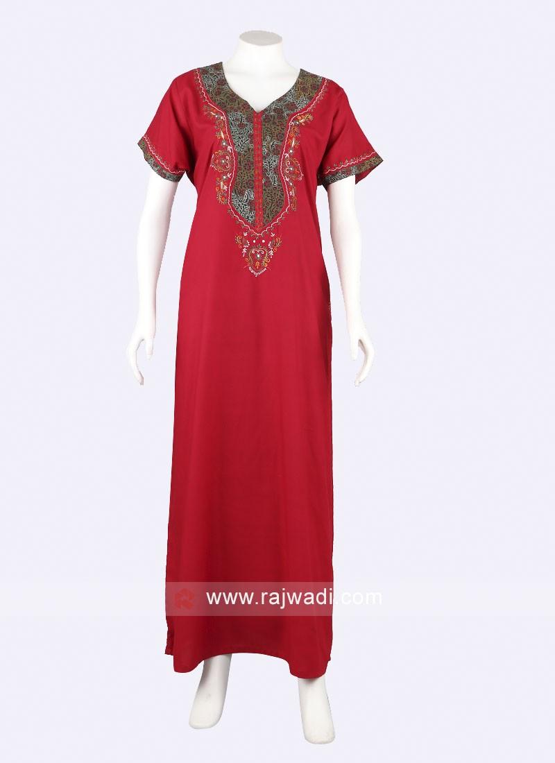 Women Red nighty