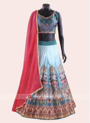 Women's Multicoloured Navratri Chaniya Choli