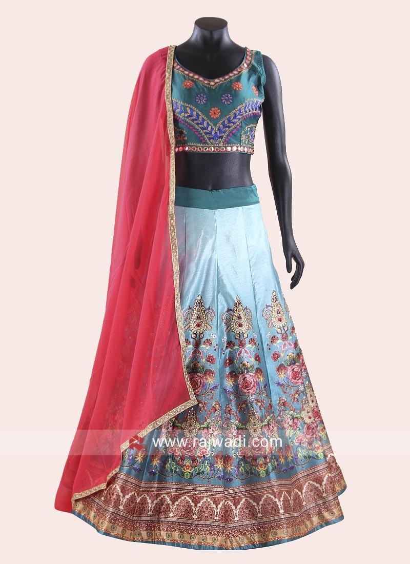 Women's Multicoloured Navratri Chaniya Choli