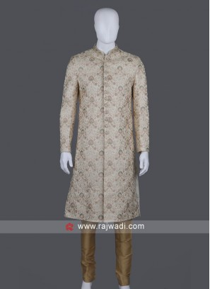 Wonderful Art Silk Sherwani