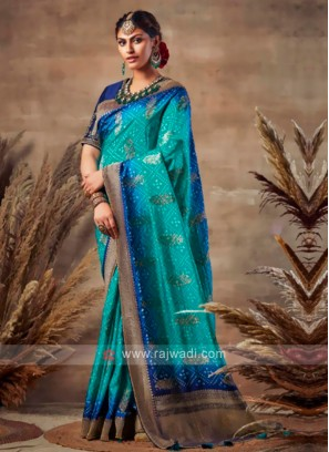 Wonderful Bandhani Saree