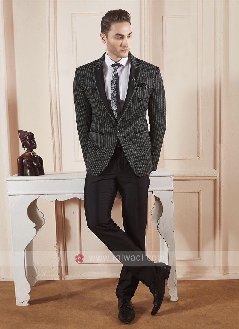 wonderful black color suit