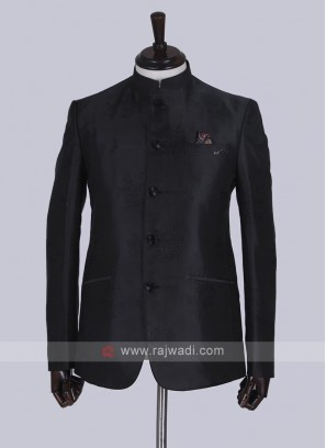 wonderful black Jodhpuri Suit