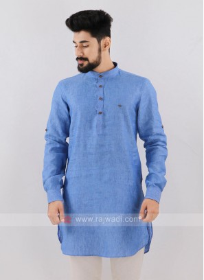 Wonderful Blue Kurta For Men
