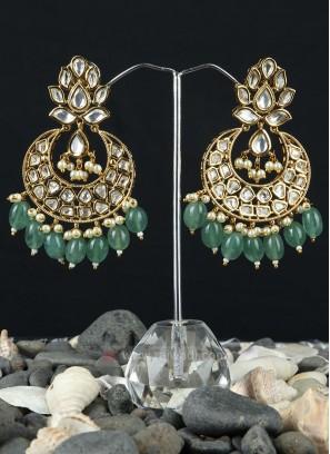 Wonderful Brass Metal Earrings