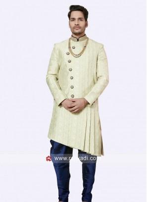 Wonderful Brocade Silk Indo Western