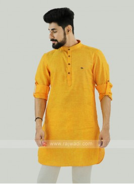 Wonderful Golden Yellow Kurta