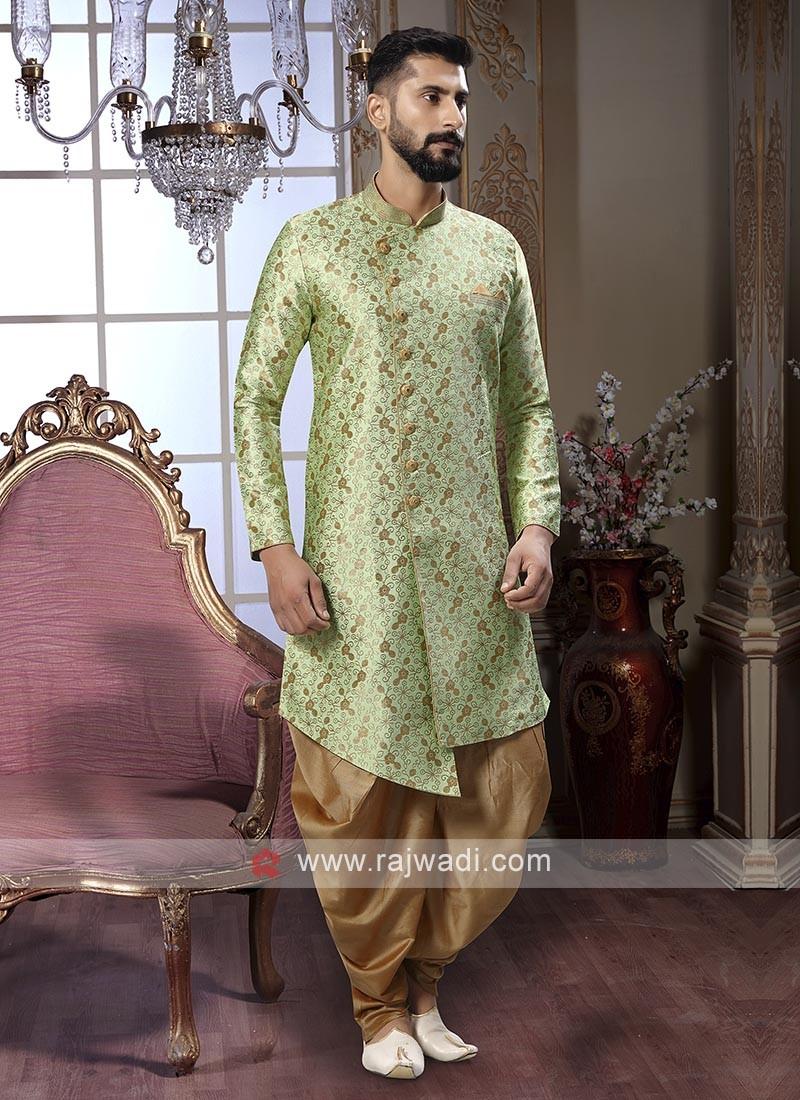 Wonderful Green Patiala Suit