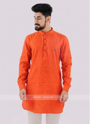 Wonderful Orange color Kurta