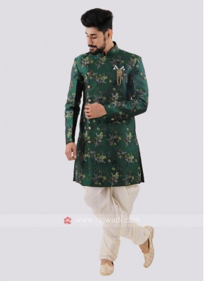 Wonderful Printed Indo Western For Men