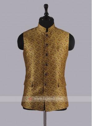Wonderful Printed Nehru Jacket