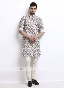 Wonderful printed mens kurta