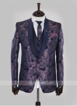 wonderful purple color suit