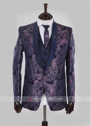 wonderful purple color suit