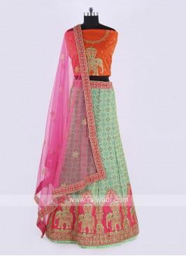 Wonderful Silk Lehenga Choli