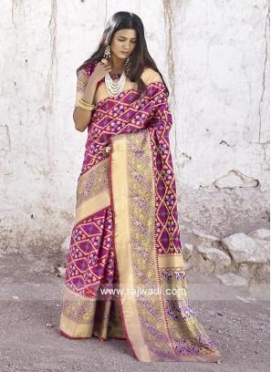 Wonderful Silk Zari Woven Saree