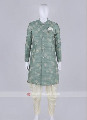 Wonderful thread work patiala suit