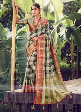 Wonderful Weaving Work Saree