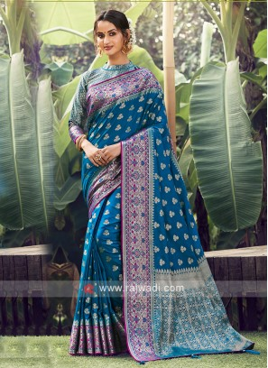Wonderful Weaving Work Saree