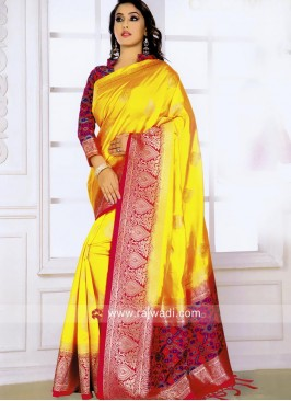 Woven Saree with Blouse
