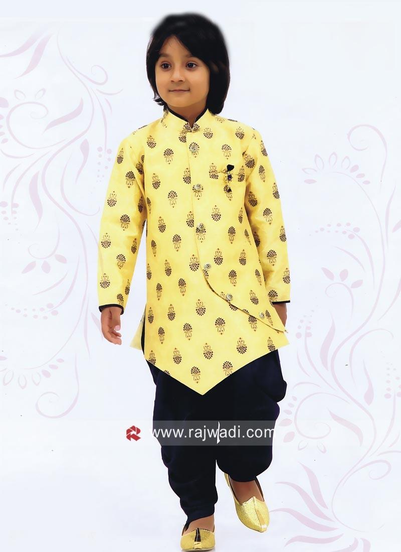 Yellow Boys Indo Western