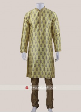 Yellow Color Kurta Pajama